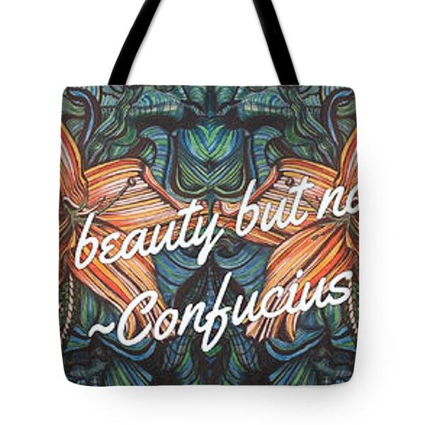 Confucius Beauty  Tote Bag
