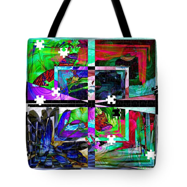 Tote Bag featuring the photograph Confused by Donna Bentley