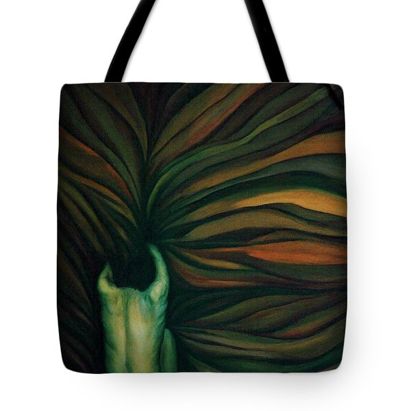 Tote Bag featuring the painting Confused by Fei A