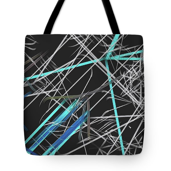 Tote Bag featuring the digital art Confused by Visual Artist Frank Bonilla