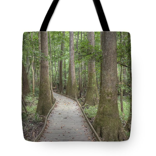 Tote Bag featuring the photograph Congaree 2017 03 by Jim Dollar