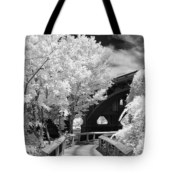 Congaree River Boardwalk Tote Bag