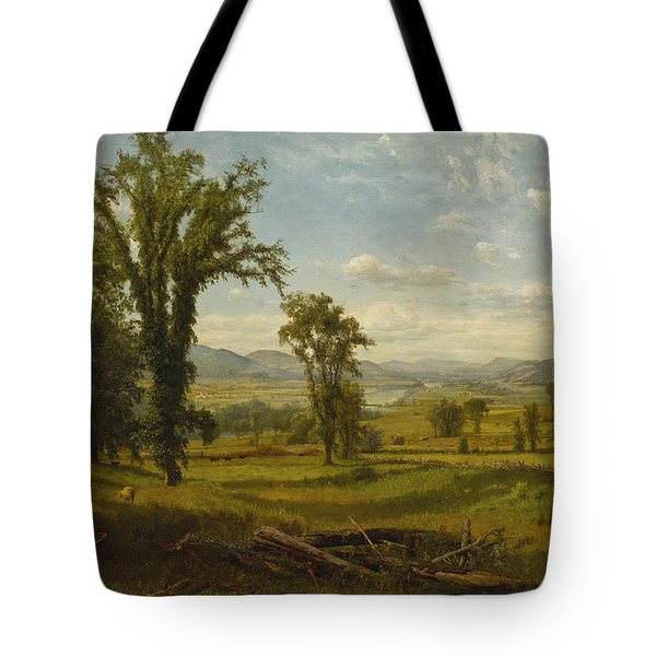 Connecticut River Valley, Claremont, New Hampshire Tote Bag