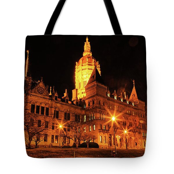 Connecticut State Capitol Tote Bag
