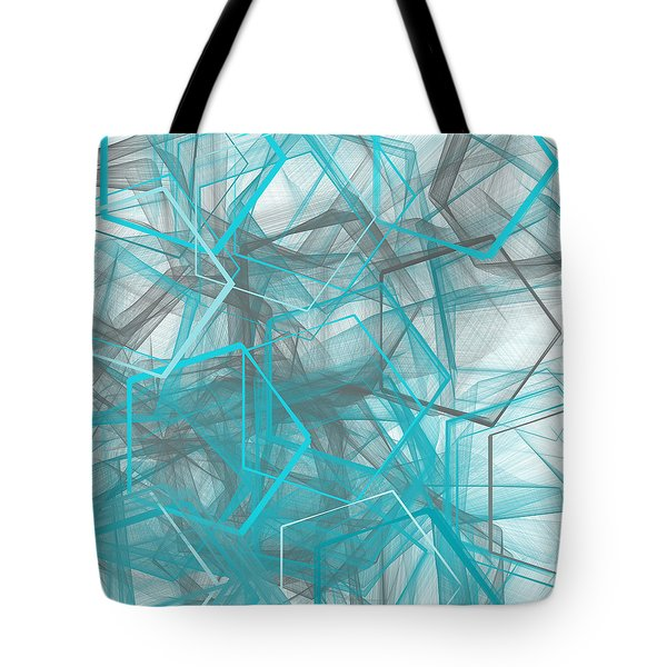 Connecting Angles Tote Bag