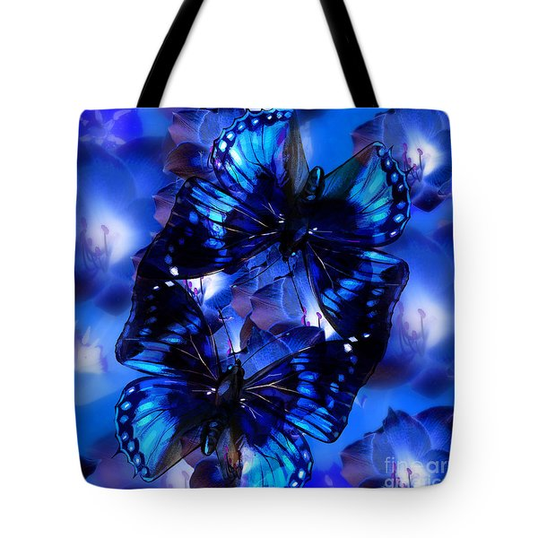Connecting Butterflies Tote Bag
