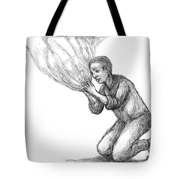 Connecting To The Universe Tote Bag
