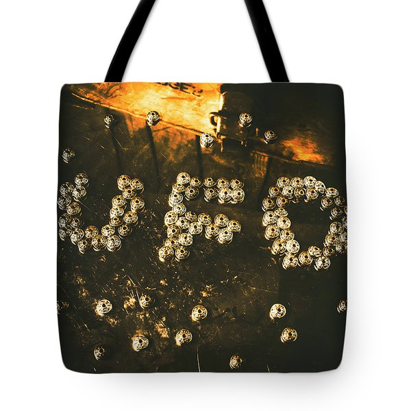 Connecting To Ufology Tote Bag