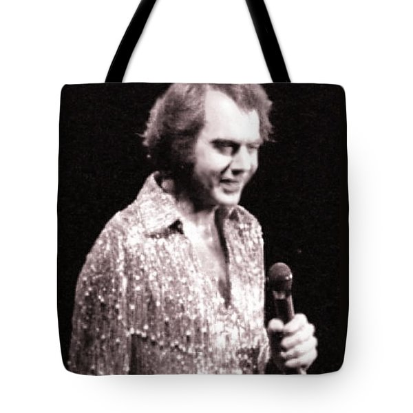 Connecting With The Audience Tote Bag