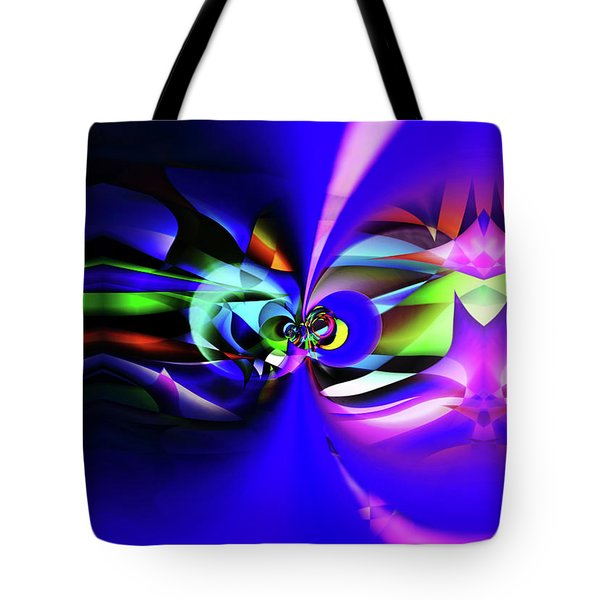 Connection 2 Tote Bag by Elaine Hunter