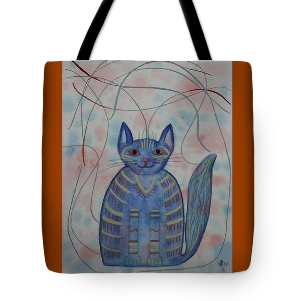Connection Cat  Tote Bag