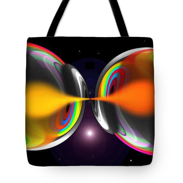 Connection Tote Bag by Charles Stuart