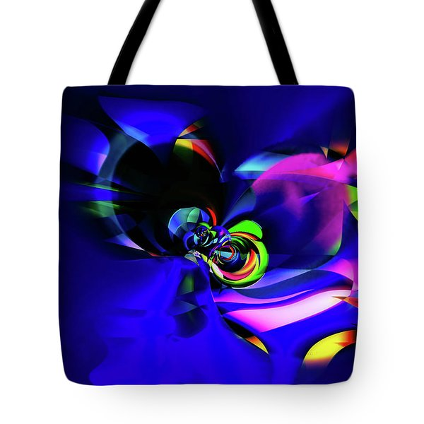 Connection Tote Bag by Elaine Hunter