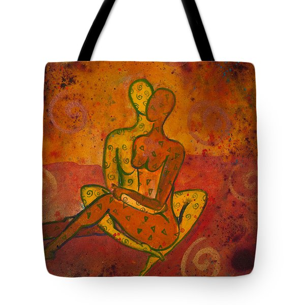 Connection Divine Love Series No. 1001 Tote Bag