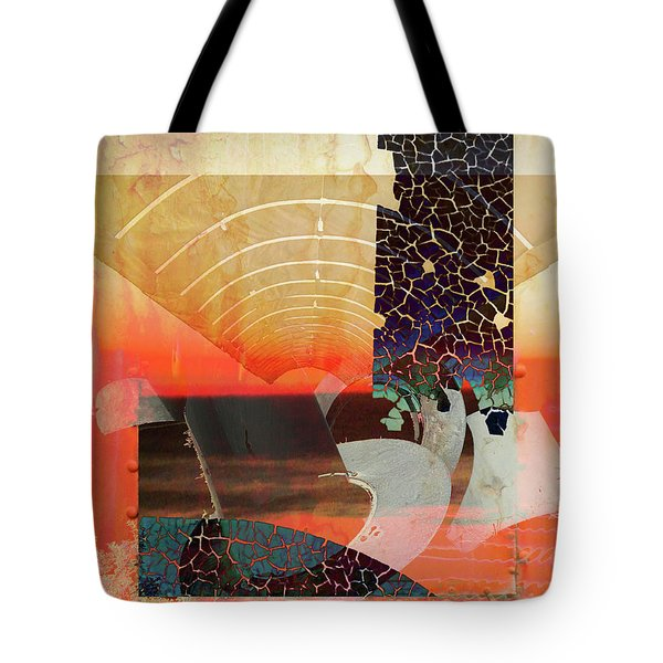 Connections In Space Tote Bag by Robert Ball