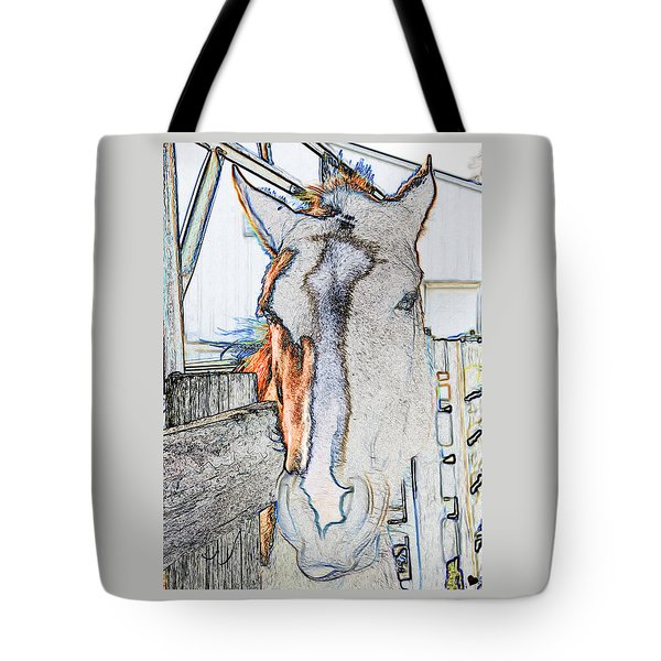 Connections To Childhood Tote Bag by Rhonda McDougall