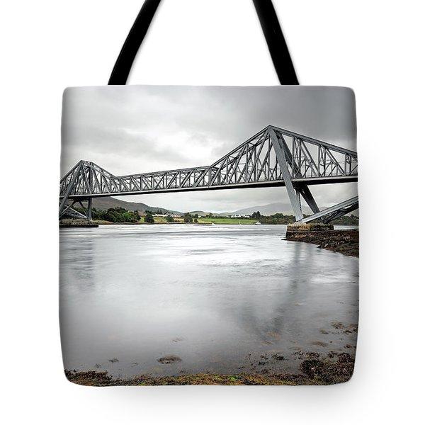 Connel Bridge Tote Bag