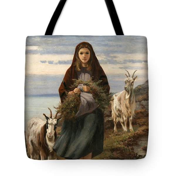 Connemara Girl Tote Bag