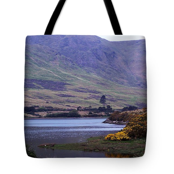 Connemara Leenane Ireland Tote Bag