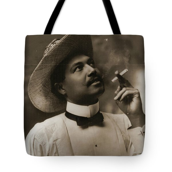 Tote Bag featuring the photograph Connoisseur 1899 by Padre Art