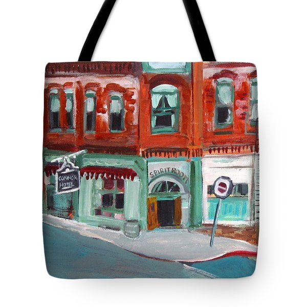 Connor Hotel In Jerome Tote Bag