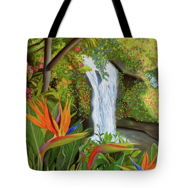 Conquest Of Paradise Tote Bag