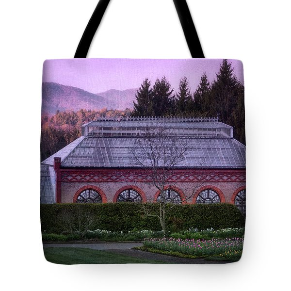 Conservatory At Biltmore Estate Tote Bag by Doug Sturgess