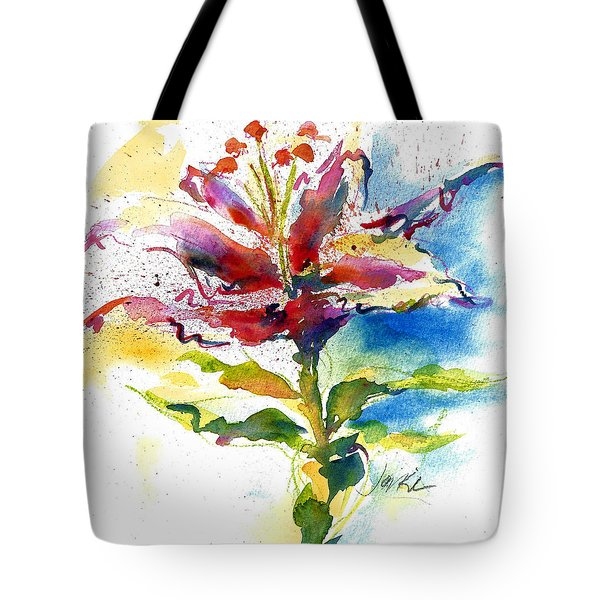 Consider The Lily Tote Bag
