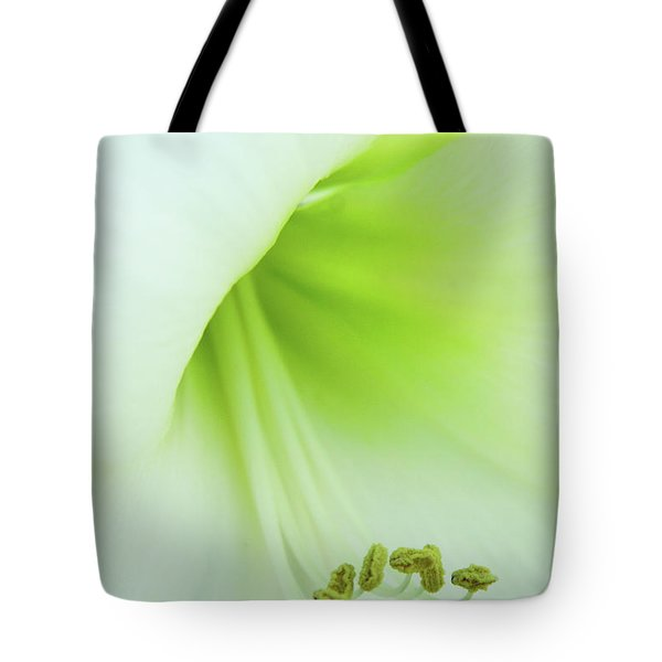 Tote Bag featuring the photograph Consider The Lily by Marie Leslie