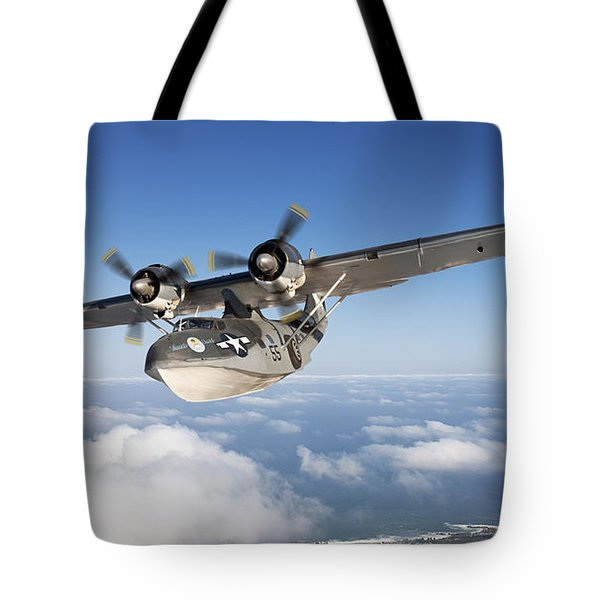 Consolidated Pby Catalina Tote Bag by Larry McManus