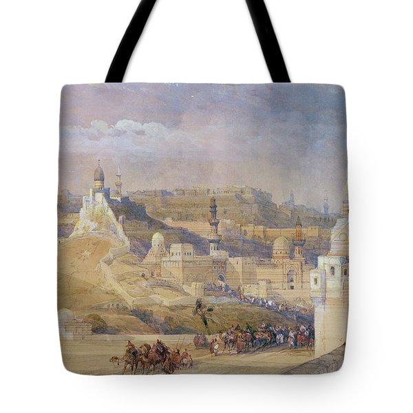 Constantinople Tote Bag by David Roberts