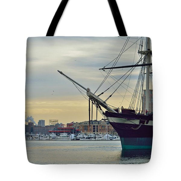 Constellation And Domino Sugars Tote Bag