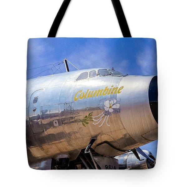Constellation Columbine Tote Bag