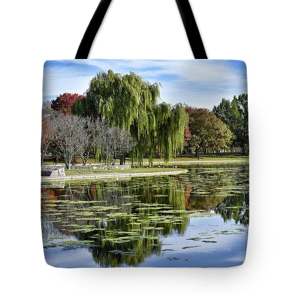 Constitution Gardens On The National Mall Tote Bag