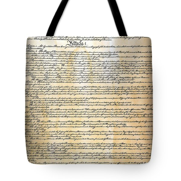 Constitution Tote Bag by Granger