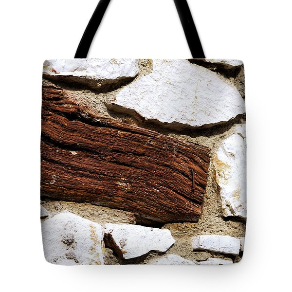 Constriction Tote Bag by Leo Symon