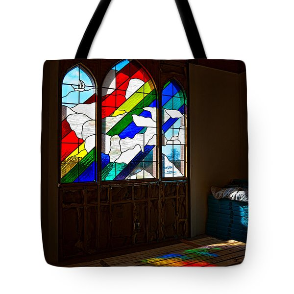 Construction Under Colors Tote Bag by Christopher Holmes