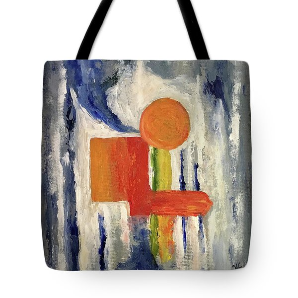 Construction Tote Bag by Victoria Lakes