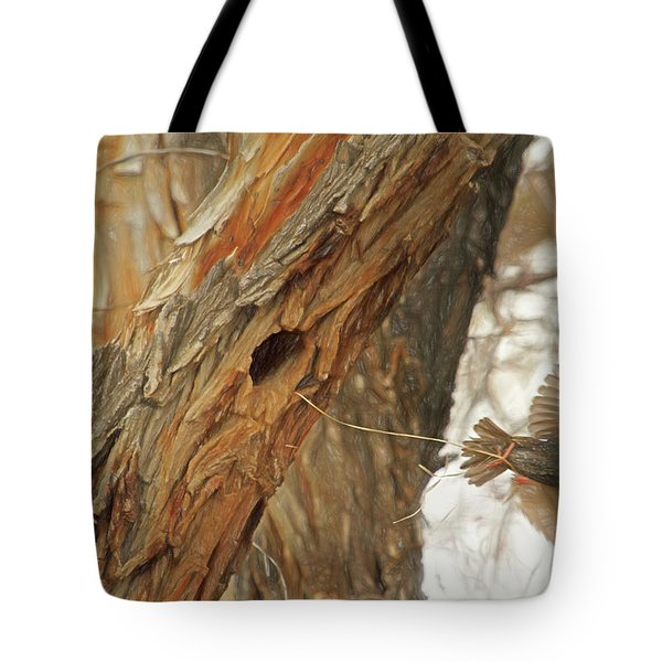 Construction Zone Tote Bag by Donna Kennedy