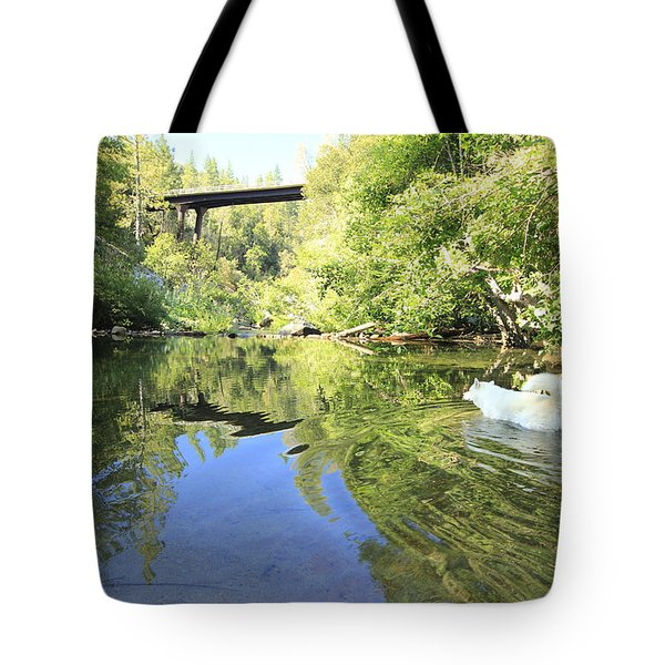 Tote Bag featuring the photograph Consumed By The Light by Sean Sarsfield