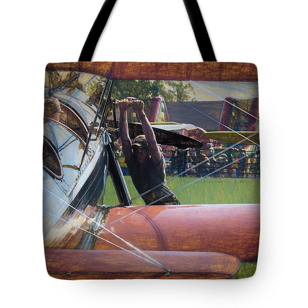 Tote Bag featuring the photograph Contact by James Barber