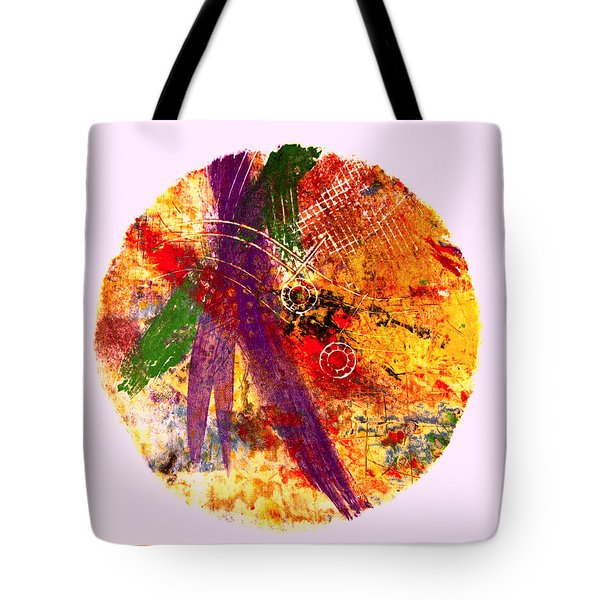 Tote Bag featuring the painting Contained by William Renzulli