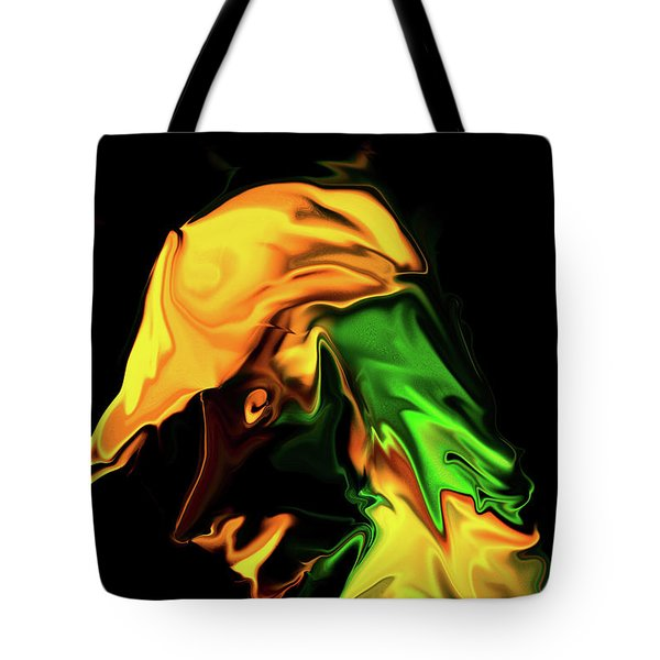 Contemplating Tote Bag