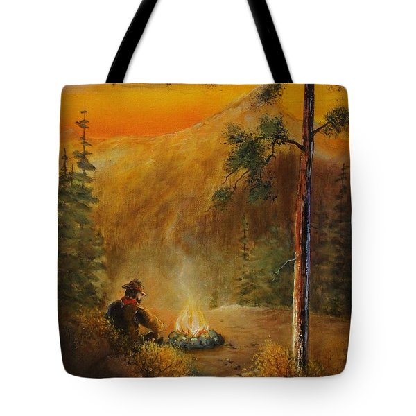 Contemplating The Journey Tote Bag