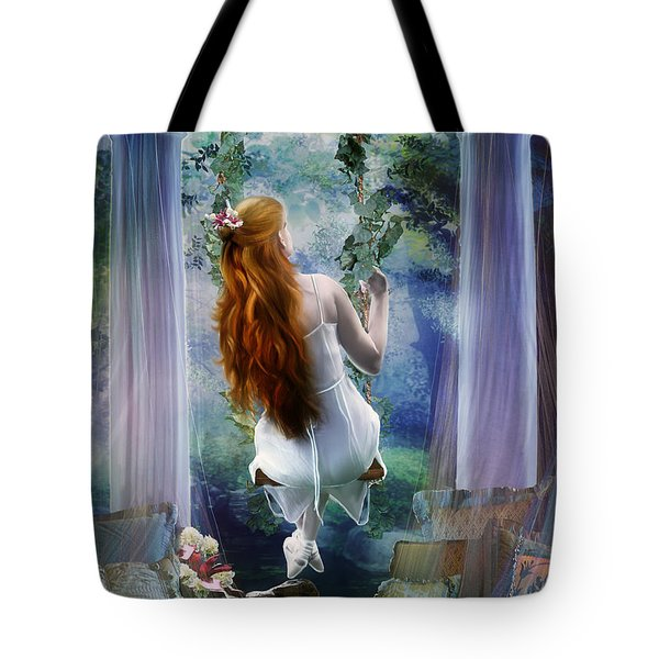 Contemplation Tote Bag by Mary Hood