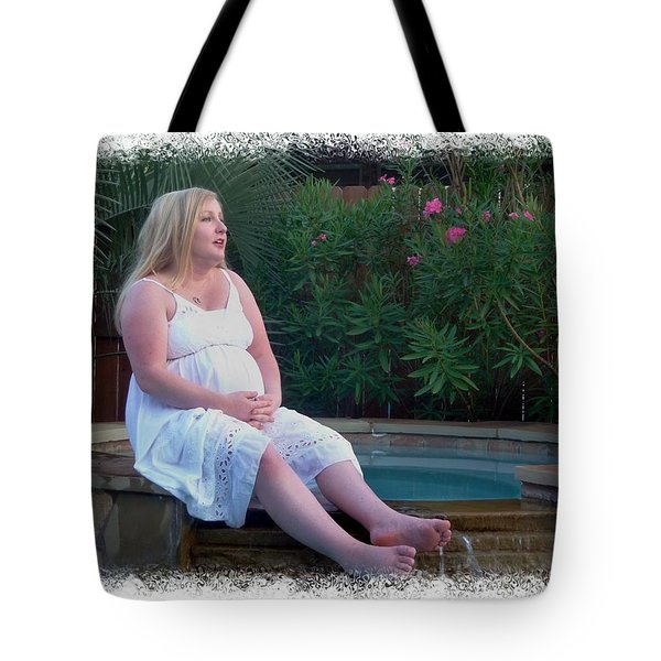 Contemplative Annah Tote Bag by Ellen O'Reilly