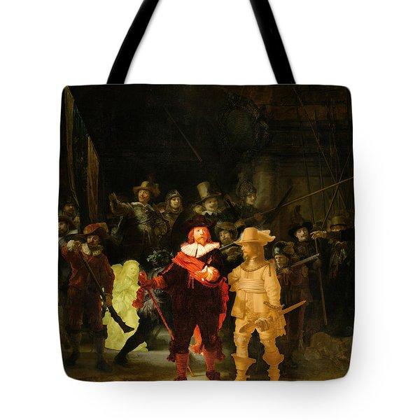 Contemporary 1 Rembrandt Tote Bag