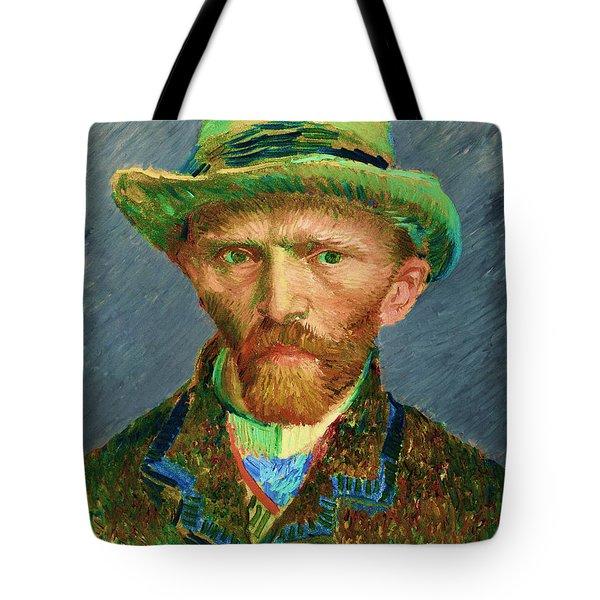 Contemporary 2 Van Gogh Tote Bag by David Bridburg