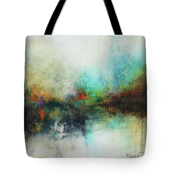 Contemporary Abstract Art Painting Tote Bag