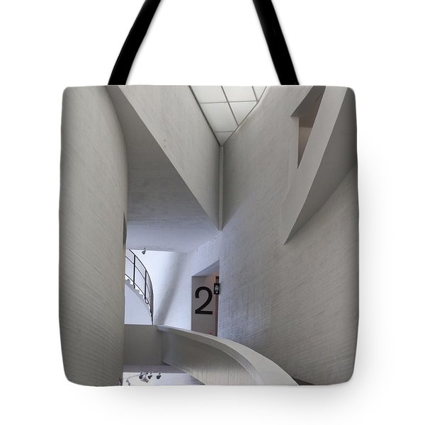 Contemporary Art Museum Interior Tote Bag
